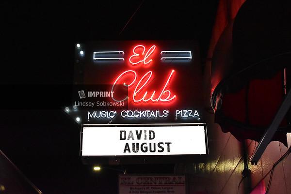 David August at El Club - Detroit, MI | 02.15.2019