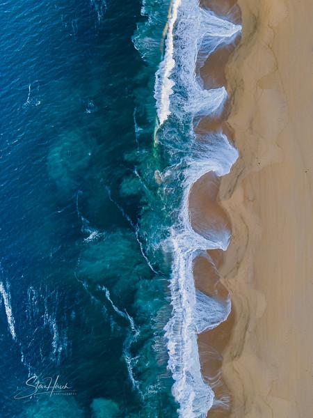 Nobu beach drone vertical