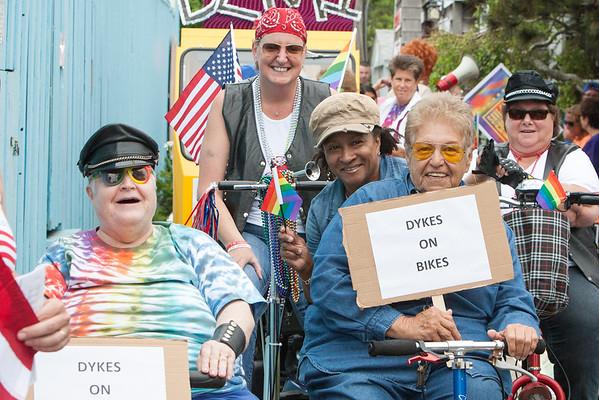 Cherry Grove Pride Parade 2015