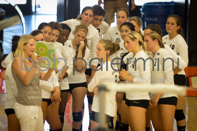 Oxy Volleyball vs Alumni 8-29-15