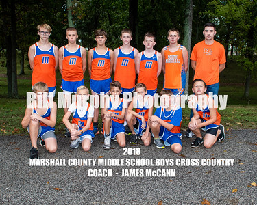 2018 Marshall County Boys Middle School Cross Country