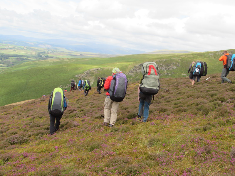 Black Combe - seemed sopt on on arrival, gliders flying, even seemed on the light side. Tough walk up due to bracken and heather. Then it blew out on arrival. Bugger!