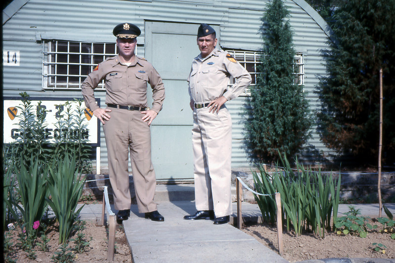 Frank S. Farmer (left) and a man named Richardi (no other information available)
