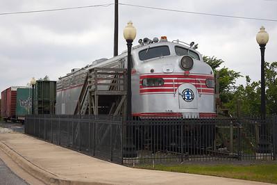 Richard B and the Keller Diesel Locomotive