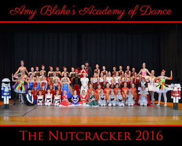 2016-2017 Nutcracker Ballet, Musical Theatre, Modern, Lyrical, HipHop