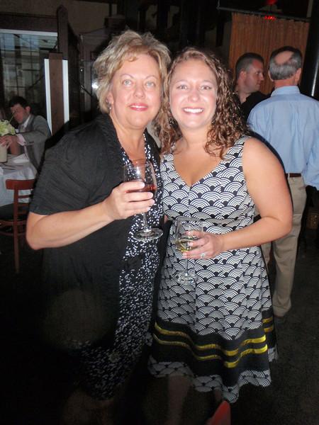 Susan with Lauren (matron of honor)