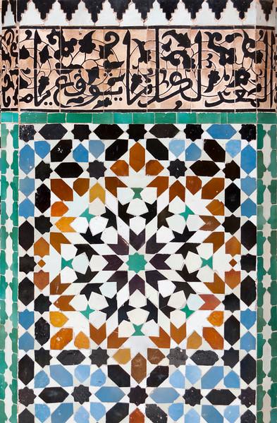 Zellij Mosaics, Marrakech