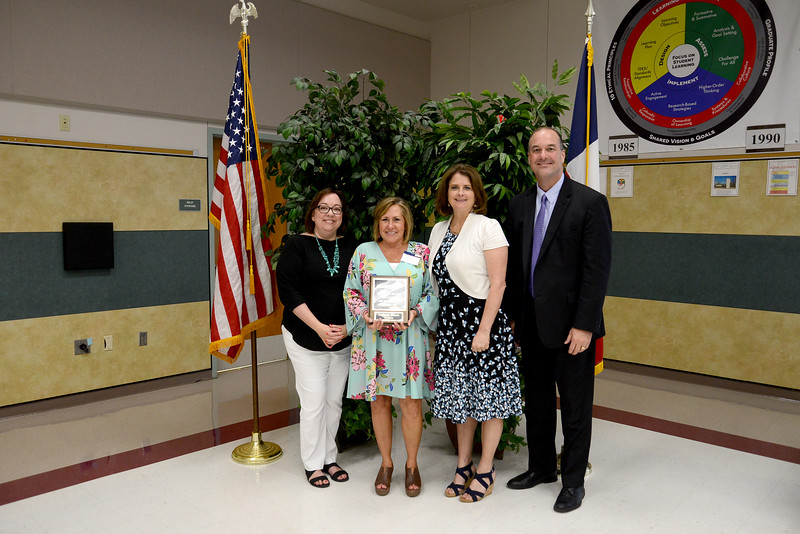 """Kathryn Roush, Reed Elementary School Supplemental Reading Program teacher, 32 years in education and 17 years in LISD  Memorable moment: """"My lasting memory is the beautiful relationships that I have built with children, colleagues and families."""""""