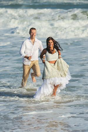 Todd + Nisha   Montauk Wedding