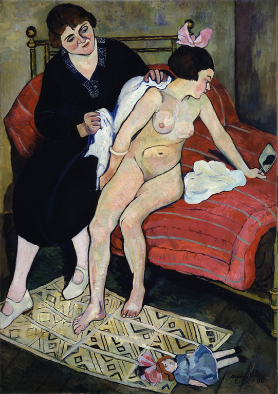 "Suzanne Valadon, ""The Abandoned Doll"" (1921)"