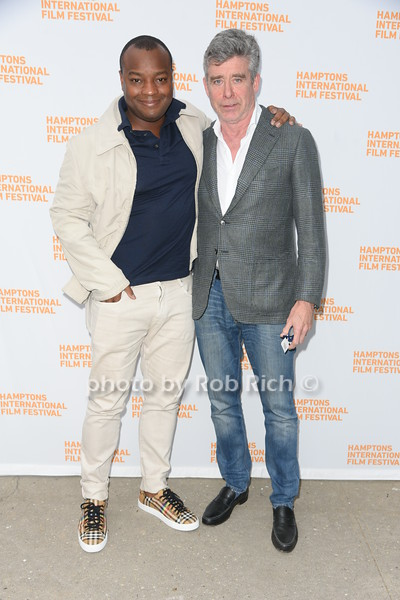 """Director of The Truman Tapes Ebs Burnough and Jay McInerney attend the screening of """"The Capote Tapes"""" at the Hampton International Film Festival at the UA Cinema in Southampton on October 12, 2019. photo by Rob Rich/SocietyAllure.com"""