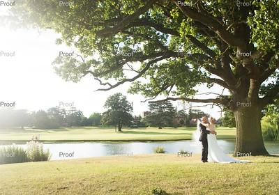 Adrian and Michele at Hanbury Manor