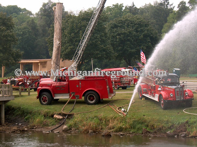 8/26/06 - Ypsilanti fire muster
