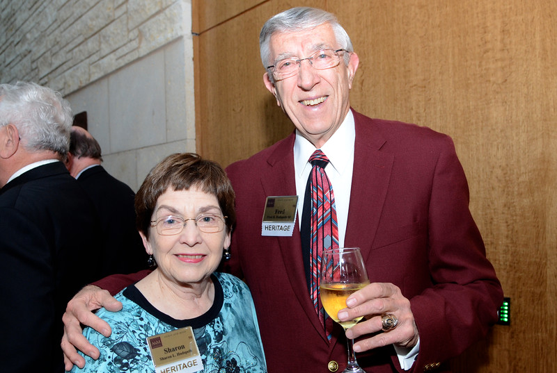 Sharon and Fred Hudspeth '61