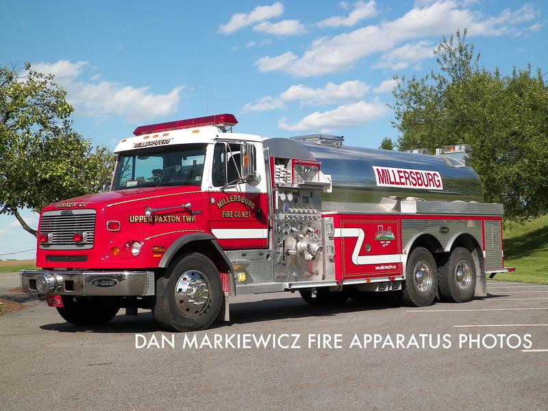 MILLERSBURG FIRE CO. TANKER 20 2002 FREIGHTLINER/E-ONE TANKER