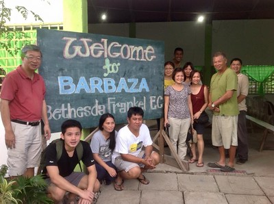 Barbaza-Libertad mission trip 13 - 18 Nov 2015