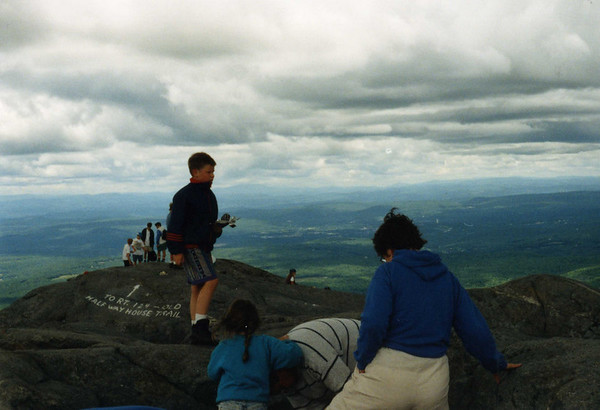 Mt. Monadnock with the Kittredges