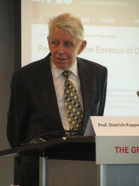 Prof. Dietrich Kappeler
