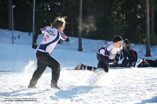 2012-03-03 Snow Rugby Jyväskylä