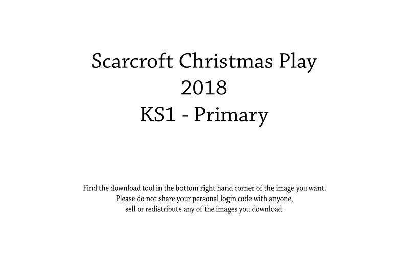 Scarcroft Christmas Play KS1 - 2018