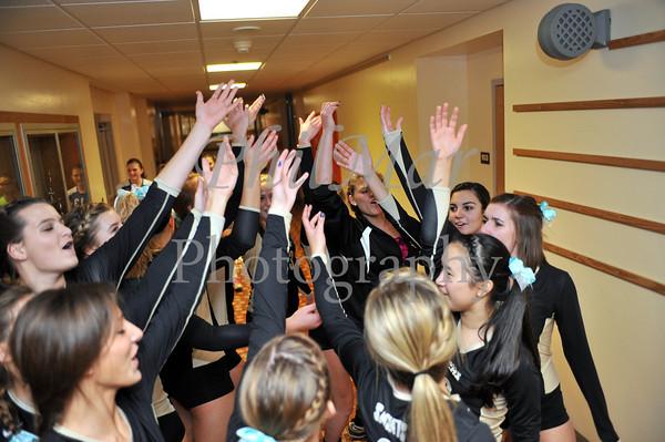 Berks Catholic VS Oley Varsity Senior Night Girls Volleyball 2011 - 2012