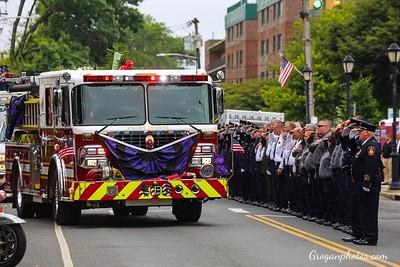 Funeral For Ex-Chief Daniel Pignataro