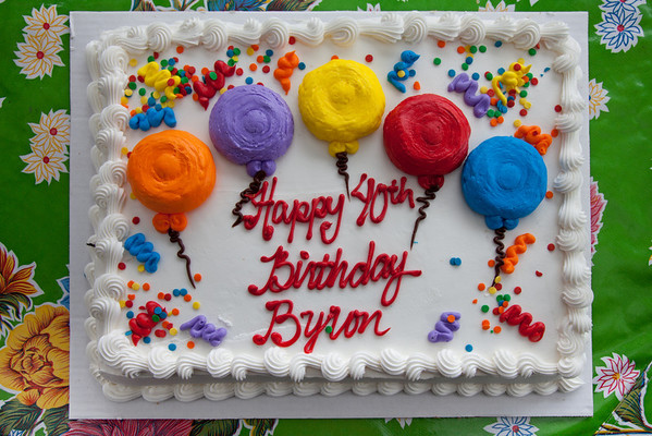 Byron's 40th