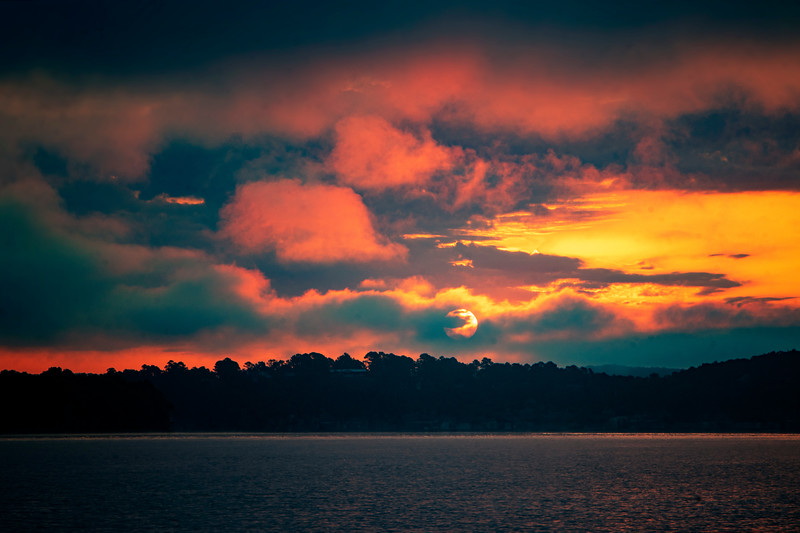 7.10.20 - RiverCliff.  Sol rising.