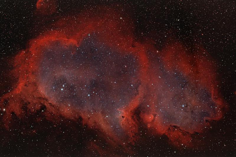IC 1848   &  Soul Nebula complex