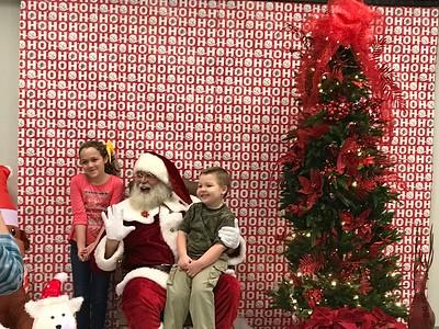 Breakfast with Santa (Dec. 2016)