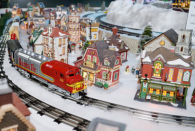 Christmas World Of Trains