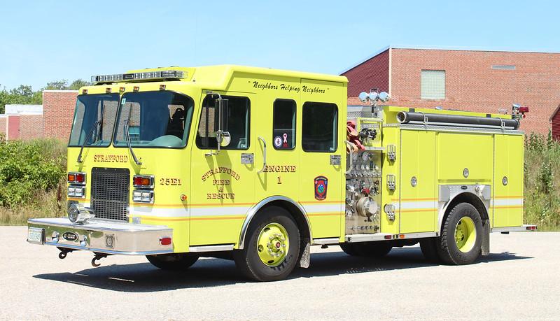 Engine 1   2000 Spartan / E-One   1250 / 1000