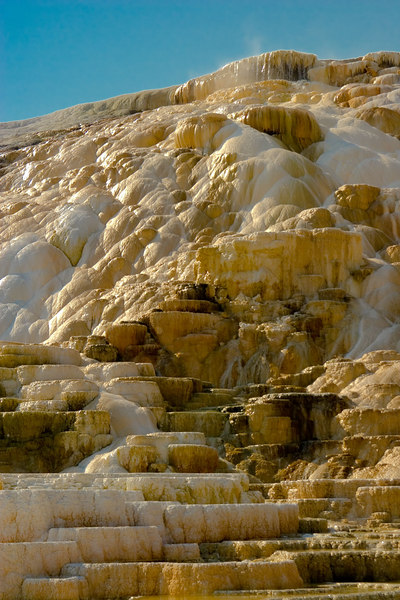 """Terrace at Mammoth Hot Springs"""