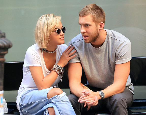 2013-08-27 - Rita Ora and Calvin Harris