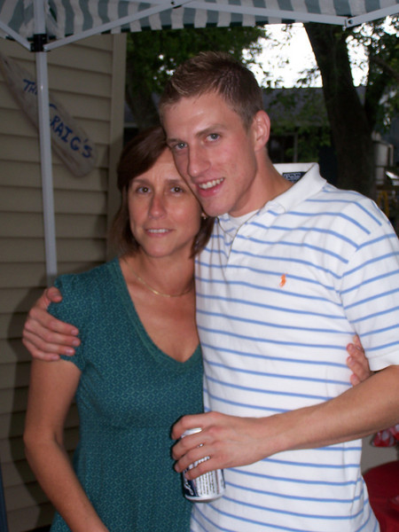Kyle and his mom, Laurie