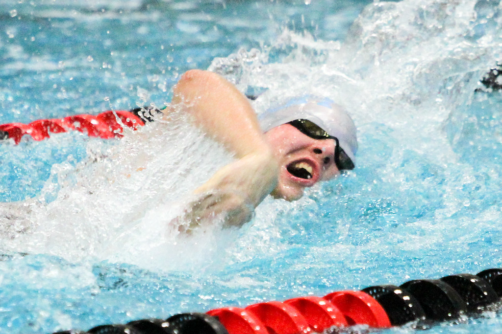 . Barry Booher - The News-Herald James Godshall (South ) 400 yard freestyle relay