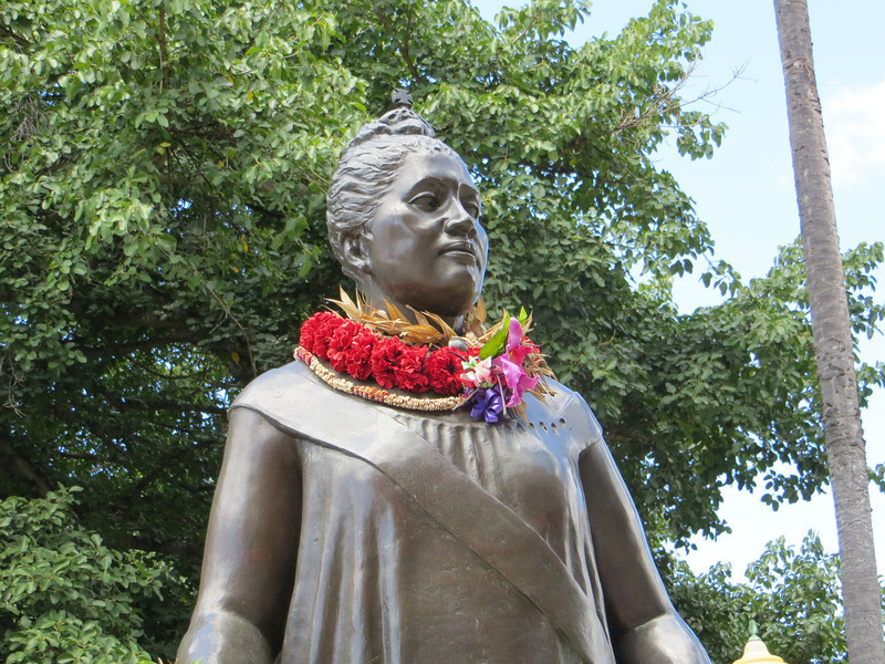 Because she championed the rights of native Hawaiians, and traditional Island values, she is revered today.  At one point she was actually under house arrest for 8 or 9 months in Iolani Palace.