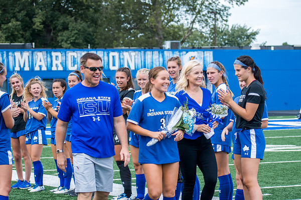 Senior Day ISU Women's Soccer Fall 2019