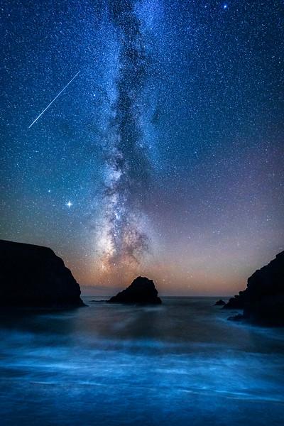 Hearn Gulch & Meteor, Gualala, California