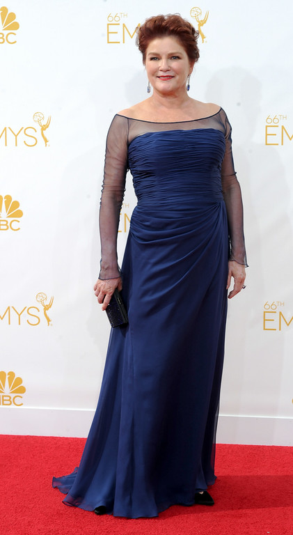 . Kate Mulgrew on the red carpet at the 66th Primetime Emmy Awards show at the Nokia Theatre in Los Angeles, California on Monday August 25, 2014. (Photo by John McCoy / Los Angeles Daily News)