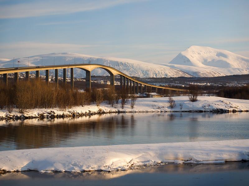 Bridge back to Tromsø