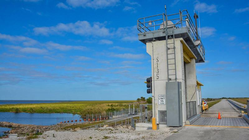 S-135 lock at Chauncey Bay