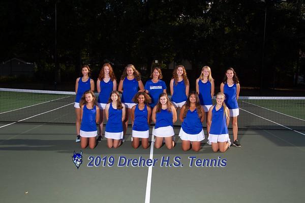 2019 Girls JV Tennis