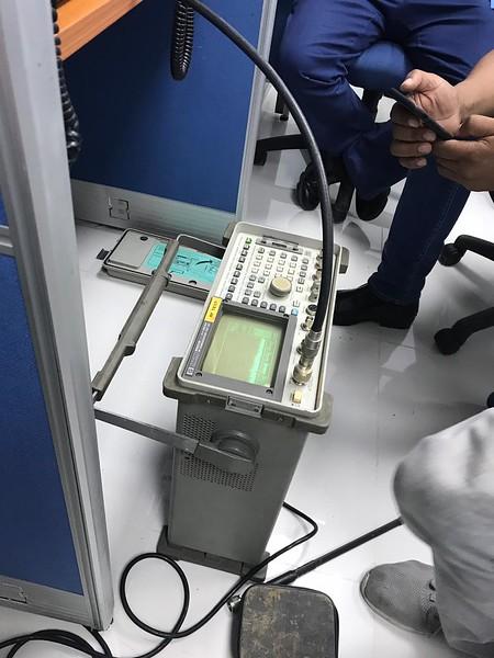 Checking HF noise floor