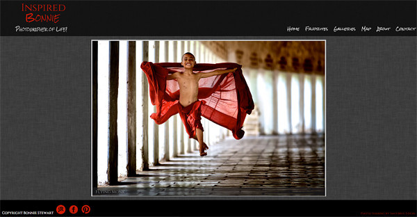 jR Customization - Landscape and Nature Photography SmugMug Web Site Examples