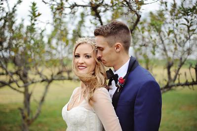 Mariah and Austin- Sylvan Cellars Orchard Wedding