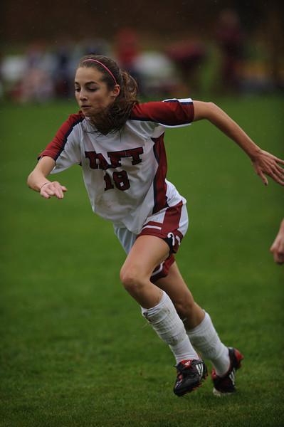 Taft Girls Varsity Soccer 10-25-08