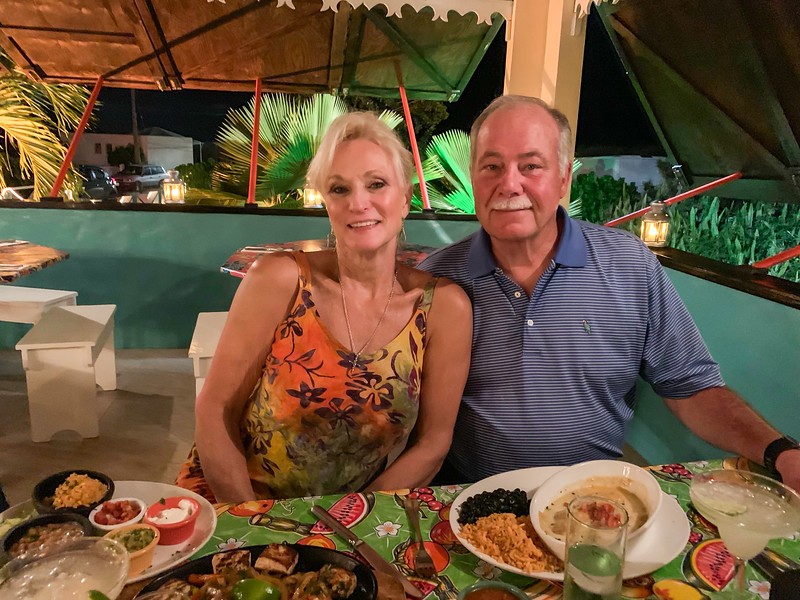 Dinner at Picante's (Carribean style Mexican restaurant)