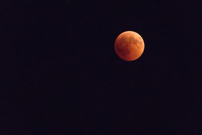 July 27 - Blood moon
