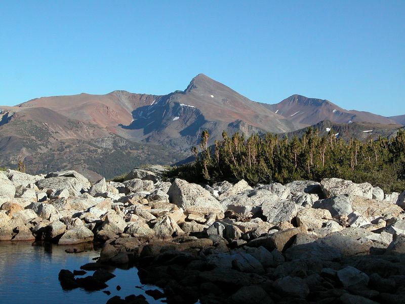 View across to Mt Dana